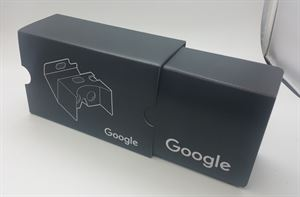 Picture of 2015 New Google Cardboard V2.0 Black Color with Head Strap, VR, Latest version