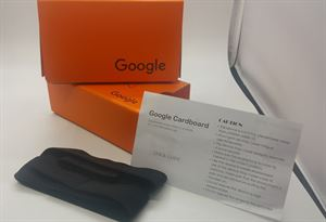 Picture of 2015 New Google Cardboard V2.0 Orange Color with Head Strap, VR, Latest version