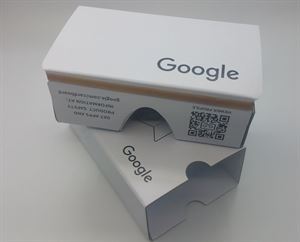 Picture of 2015 New Google Cardboard V2.0 Whilte Color with Head Strap, VR, Latest version