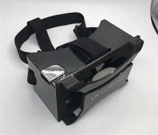 Picture of Latest 2018 Google Cardboard Plastic Version, Virtual Reality, VR Headset