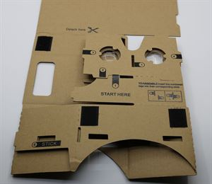 Picture of Amazing Cardboard, 30mm Lenses, NFC Tag, head strap